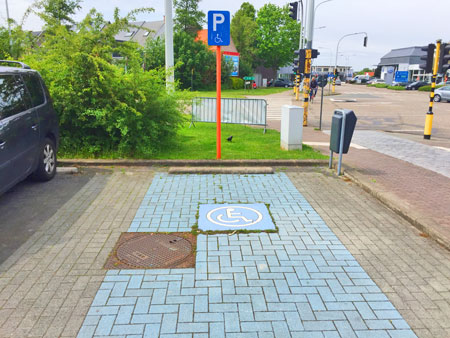 gehandicapten parking kontich