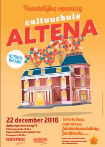 Feestelijke opening Cultuurhuis Altena