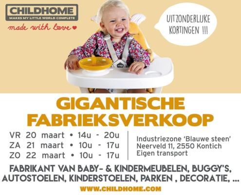 Fabrieksverkoop/Stockverkoop Childhome