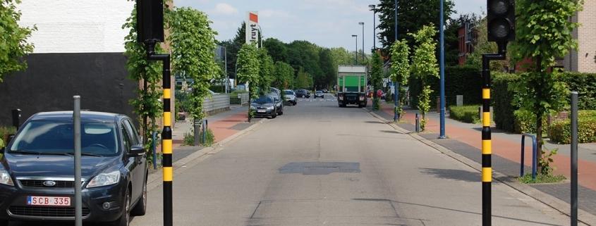 Verdwijnpaal Ooststatiestraat treedt vanaf 2/9 opnieuw in werking