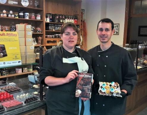 Chocoladecreaties van Soetkin in Kontich verleiden Gault&Millau