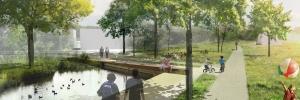 Project Blauwgroen Park Spoor Natuurlijk