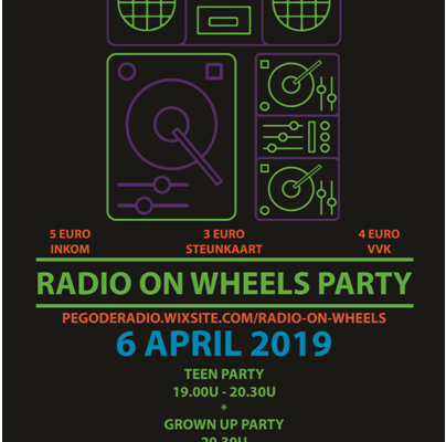 Radio on wheels Party